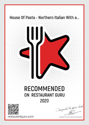 Restaurant Guru Reward